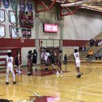 Boys Varsity Basketball falls to Westside 46 – 38