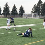 Girls Sophomore Soccer beats Lincoln North Star 2 – 1