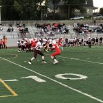 Boys Varsity Football falls to Norfolk 30 – 14