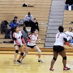 Girls Freshman Volleyball falls to Omaha North 2 – 0