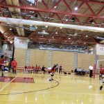 Girls Junior Varsity Volleyball beats Omaha North 2 – 1