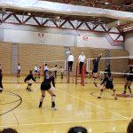 Girls Varsity Volleyball falls to Benson 2 – 1