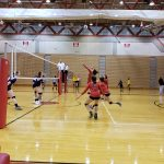 Girls Varsity Volleyball falls to Bellevue East 2 – 0