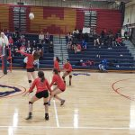 Girls Varsity Volleyball falls to Omaha Northwest 3 – 0