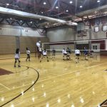 Girls Junior Varsity Volleyball falls to Omaha Mercy 2 – 0