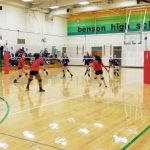 Girls Junior Varsity Volleyball falls to Bellevue West 2 – 0