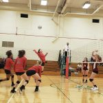Girls Junior Varsity Volleyball falls to Roncalli Catholic 2 – 0