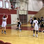 Girls Sophomore Basketball falls to Harry A Burke 43 – 26