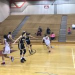 Girls Junior Varsity Basketball falls to Burke 59 – 16