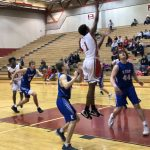 Boys Varsity Basketball beats Lincoln East 62 – 55