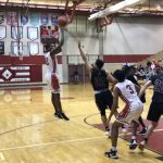 Boys Varsity Basketball falls to Bellevue West Senior 71 – 56