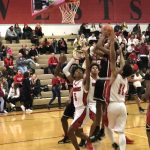 Boys Varsity Basketball falls to Westside 77 – 75