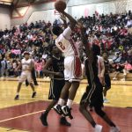 Boys Varsity Basketball beats Bryan 72 – 41