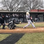 Boys Varsity Baseball falls to Burke 9 – 2