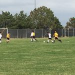 Boys Sophomore Soccer Reserve beats Burke 7 – 0