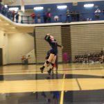 Girls Varsity Volleyball beats Omaha North 2 – 0