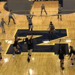 Girls Varsity Volleyball falls to Omaha North 3 – 2