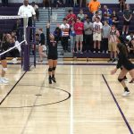 Girls Varsity Volleyball falls to Omaha Central 3 – 0