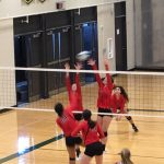 Girls Varsity Volleyball falls to Lincoln 2 – 0