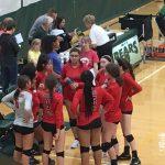 Girls Varsity Volleyball falls to Archbishop Bergan 2 – 0