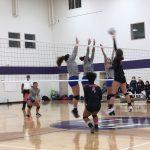 Girls Varsity Volleyball falls to Omaha North 2 – 0