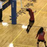 Girls Varsity Volleyball beats Omaha North 2 – 1
