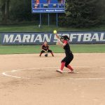 Girls Junior Varsity Softball falls to Marian 13 – 1