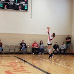 Girls Sophomore Volleyball falls to Roncalli Catholic 2 – 0