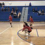 Girls Junior Varsity Volleyball falls to Gross Catholic 2 – 0