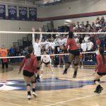 Girls Varsity Volleyball falls to Gross Catholic 3 – 0