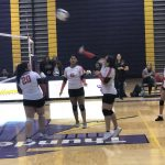 Girls Sophomore Volleyball beats Bellevue West 2 – 0