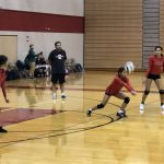 Girls Junior Varsity Volleyball falls to Omaha North 2 – 1