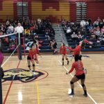 Girls Varsity Volleyball falls to Omaha Northwest 3 – 0