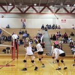 Girls Junior Varsity Volleyball falls to Mercy 2 – 1