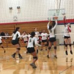 Girls Sophomore Volleyball beats Bryan 2 – 1