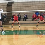 Girls Junior Varsity Volleyball falls to Omaha Central 2 – 0