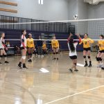 Girls Sophomore Volleyball falls to Northwest 2 – 0
