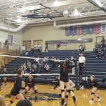 Girls Varsity Volleyball beats Bryan 3 – 2