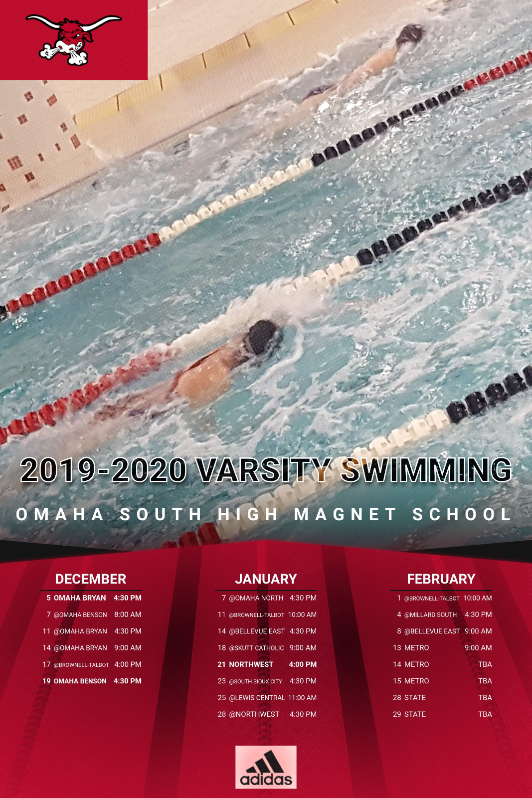 Varsity Swimming Season Begins Thursday