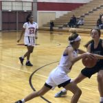 Girls Varsity Basketball falls to Millard West 63 – 18