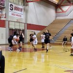 Girls Sophomore Basketball falls to Bellevue West Senior 45 – 10