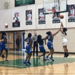 Girls Junior Varsity Basketball beats Omaha North 27 – 26