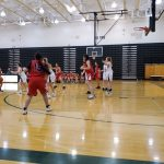 Girls Sophomore Basketball falls to Gretna 51 – 7