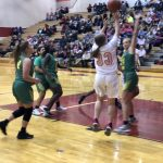Girls Varsity Basketball falls to Bryan 48 – 47