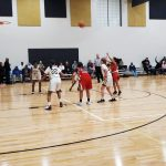 Girls Sophomore Basketball falls to Burke 45 – 18