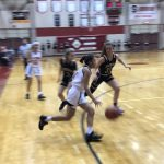 Girls Varsity Basketball falls to Burke 67 – 27