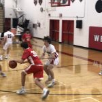 Boys Sophomore Basketball Reserve falls to Westside 50 – 49