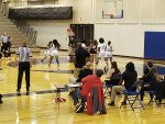Girls Varsity Basketball falls to Omaha North 50 – 45