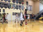 Boys Junior Varsity Basketball falls to Burke 66 – 64