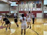 Girls Sophomore Basketball falls to Burke 58 – 30